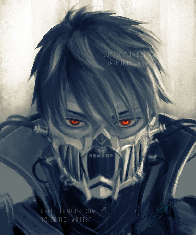 Code Vein Male Vampire Sketch by luffie on