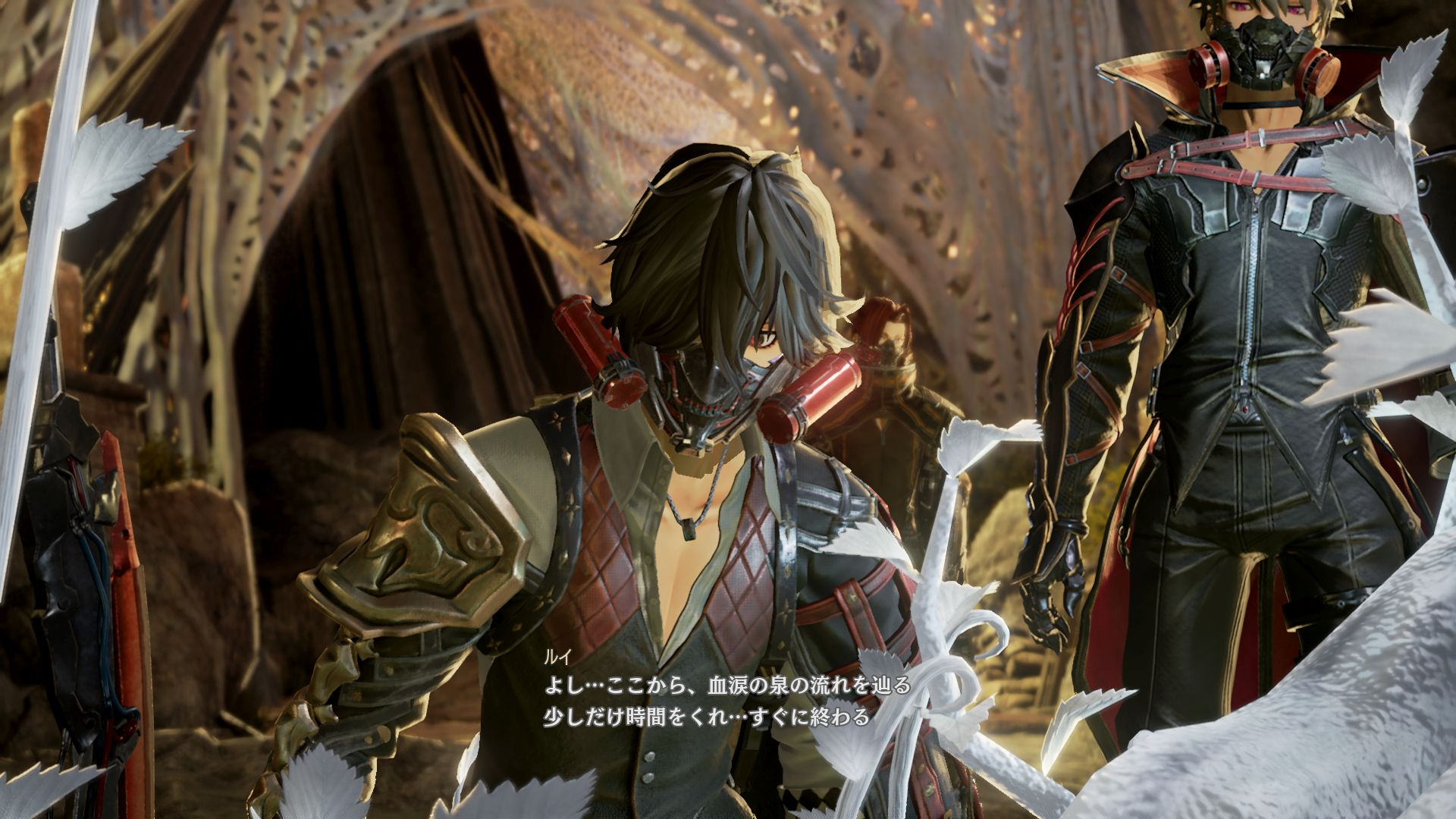 CODE VEIN New Details On Blood Tears Characters More