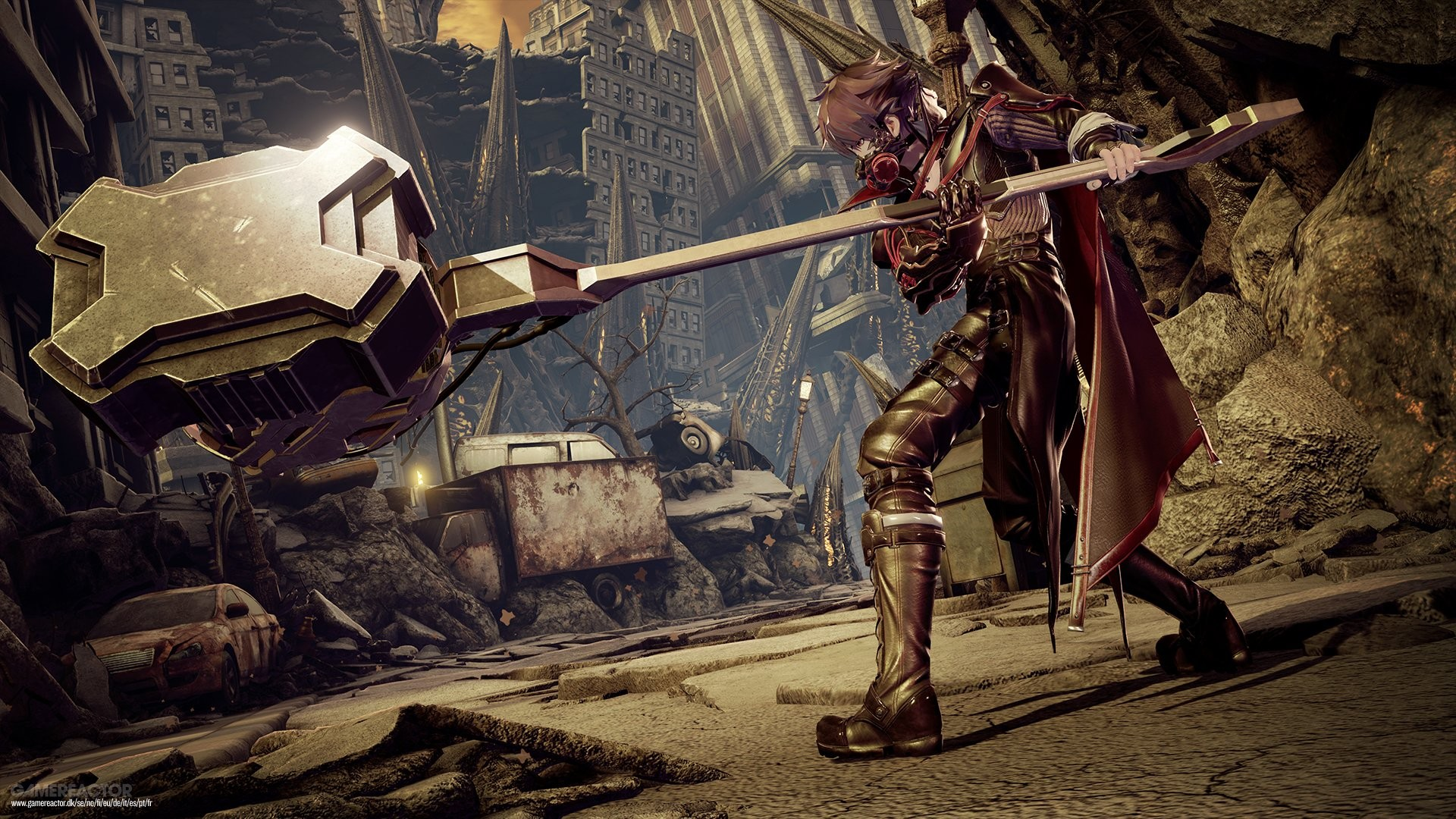 Code Vein TGS HandsOn Impressions Preview Gamereactor