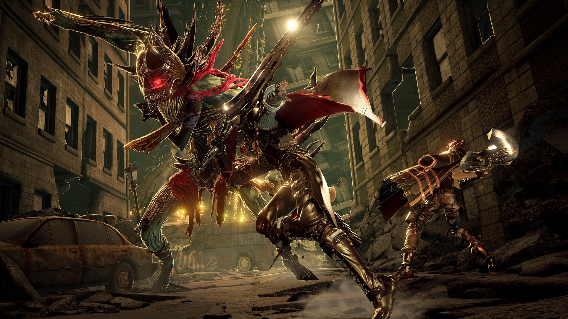 Code Vein is Bandai Namcos bloodthirsty adventure that takes place