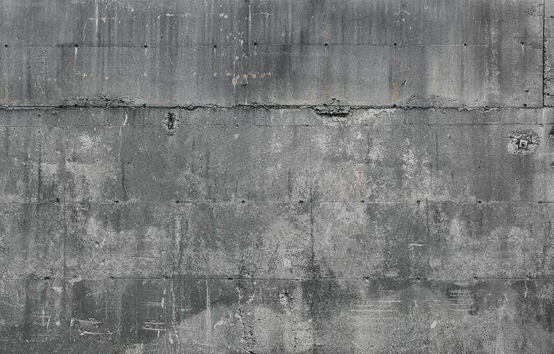 Smooth Concrete Mural Wallpaper 800x511