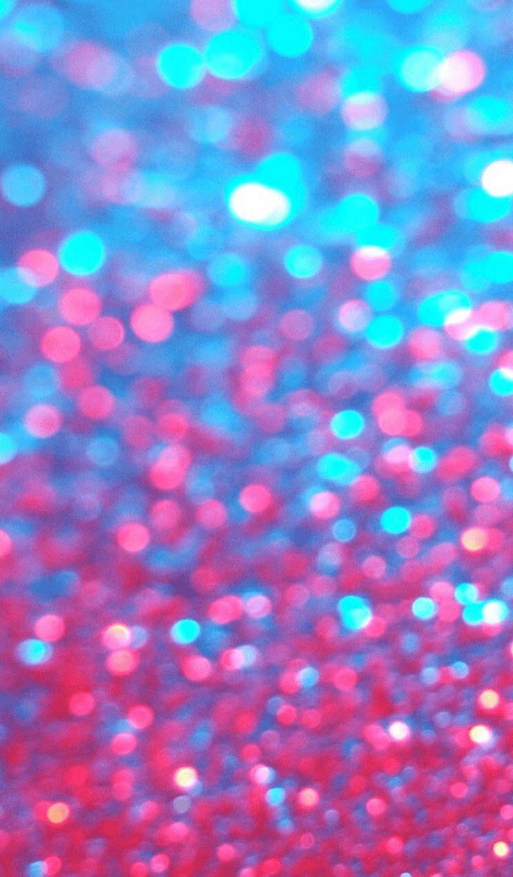 Glitter Iphone Cover