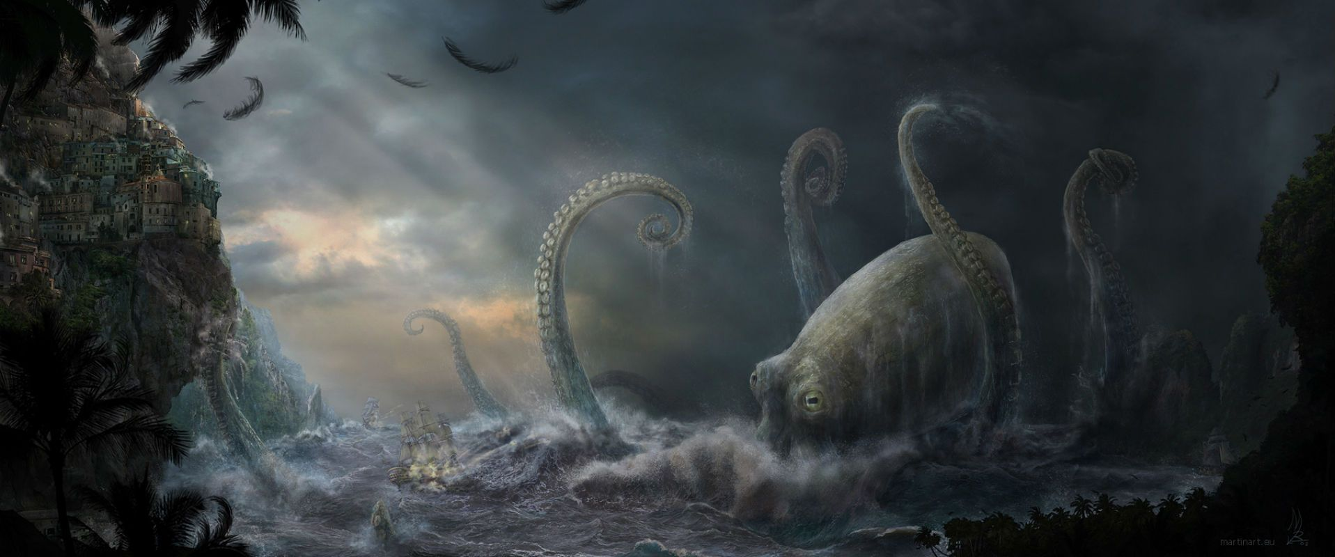 Call Of Cthulhu HD Wallpapers  Backgrounds  Wallpaper  1917x800