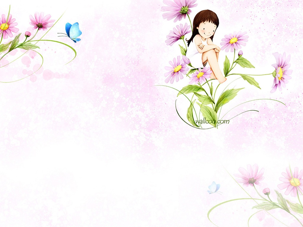 Cute CartoonHD Wallpapers 1024x768