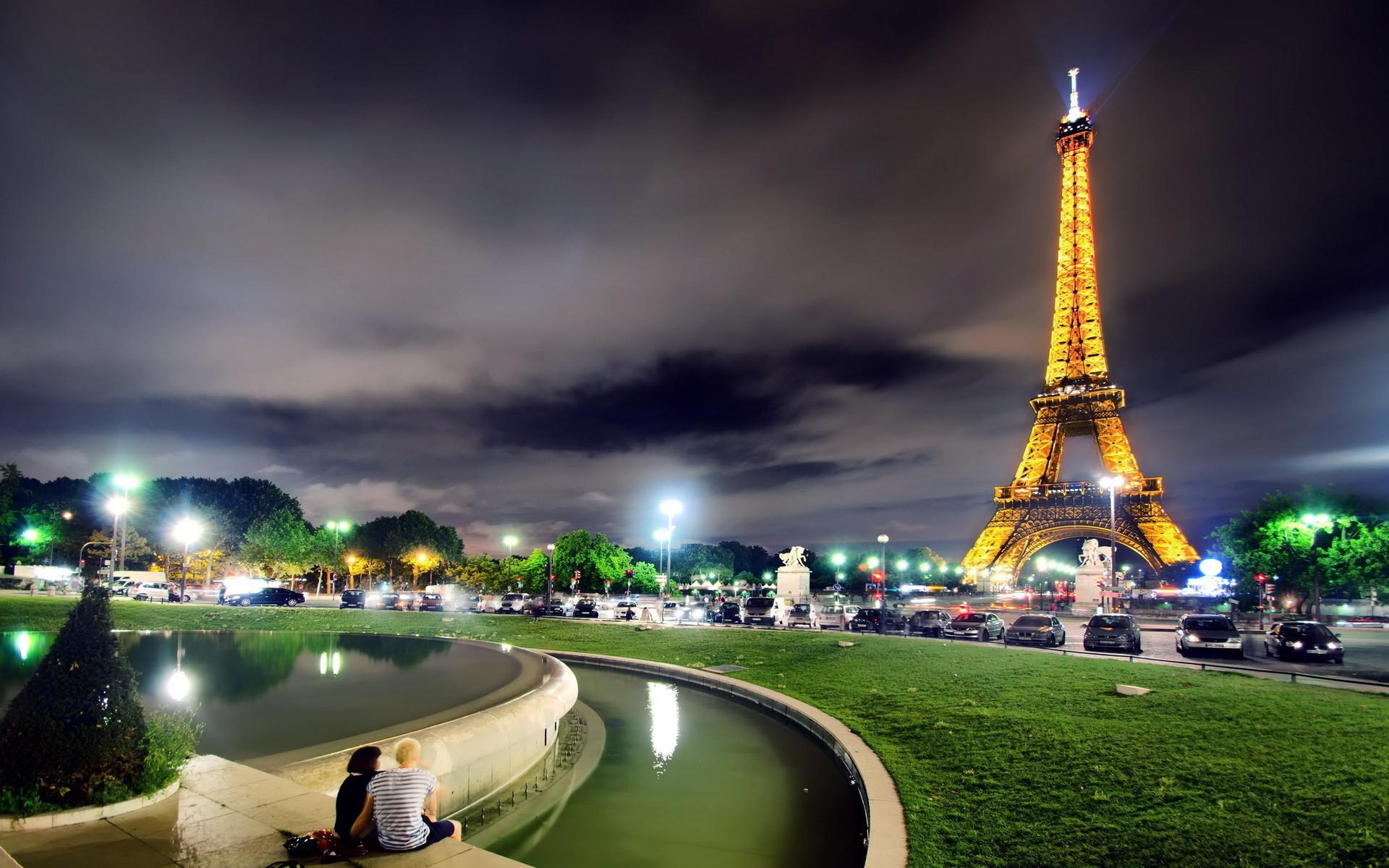 Wallpaper Eiffel Tower Paris France K K World