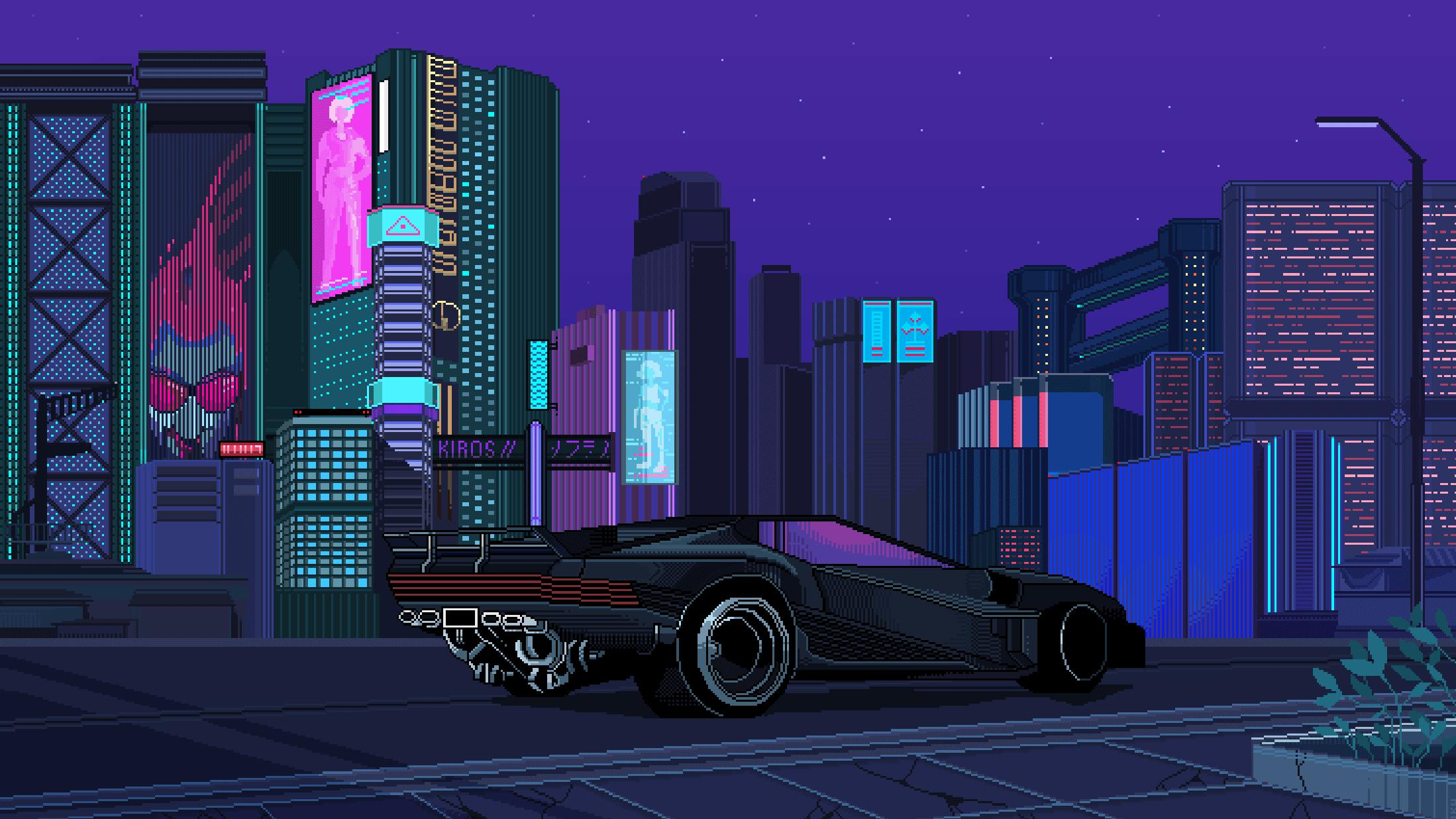Cyberpunk desktop Wallpaper Download High Resolution K