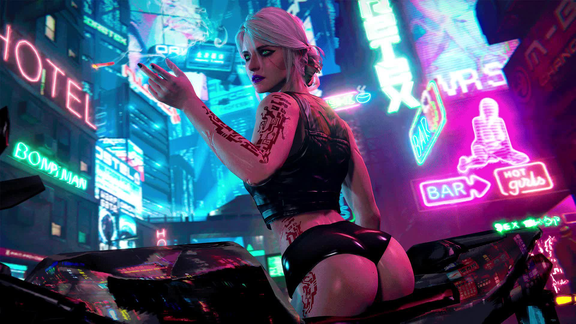 Cyberpunk HD Wallpaper New Tab Themes Free
