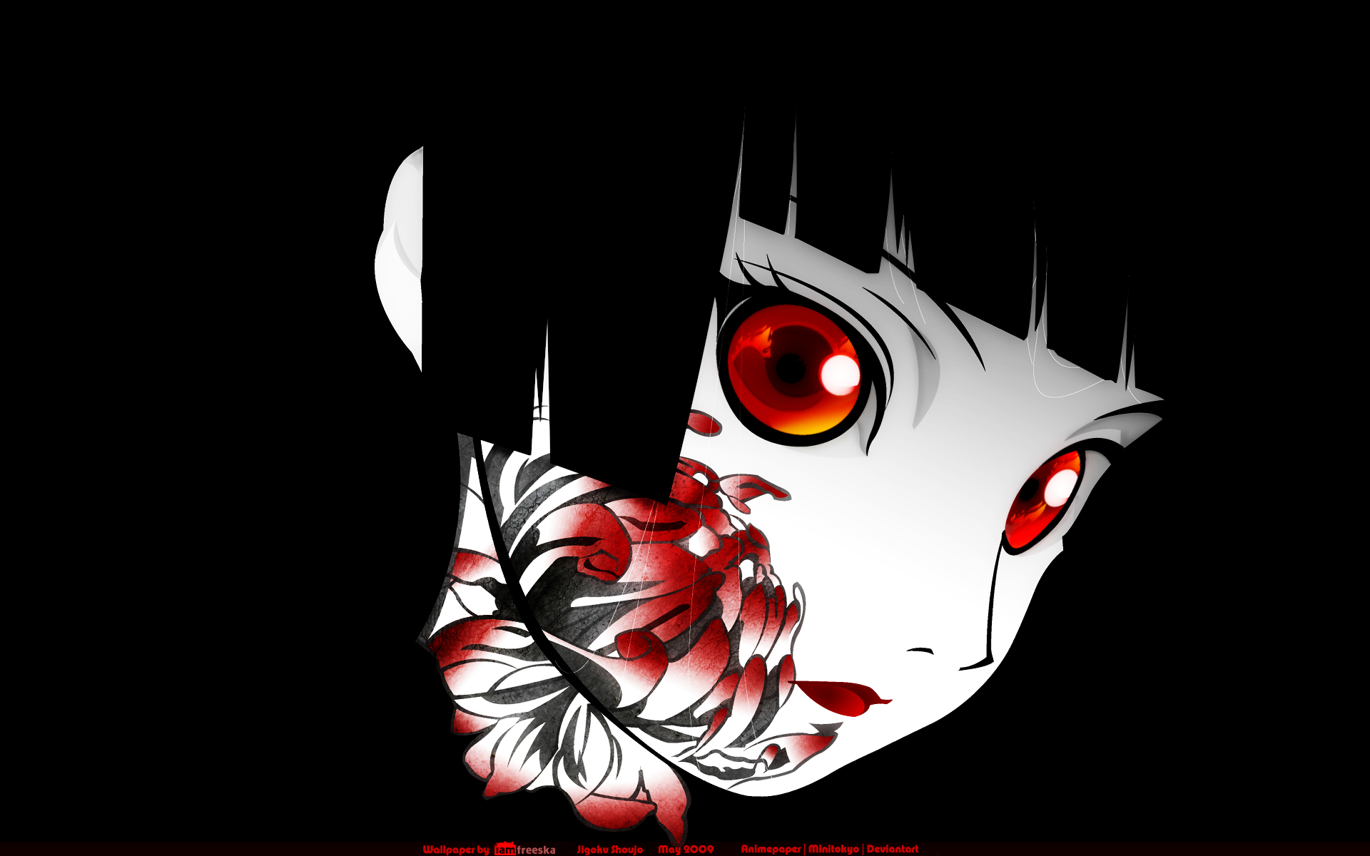 Dark anime clipart widescreen  ClipartFest 1920x1200