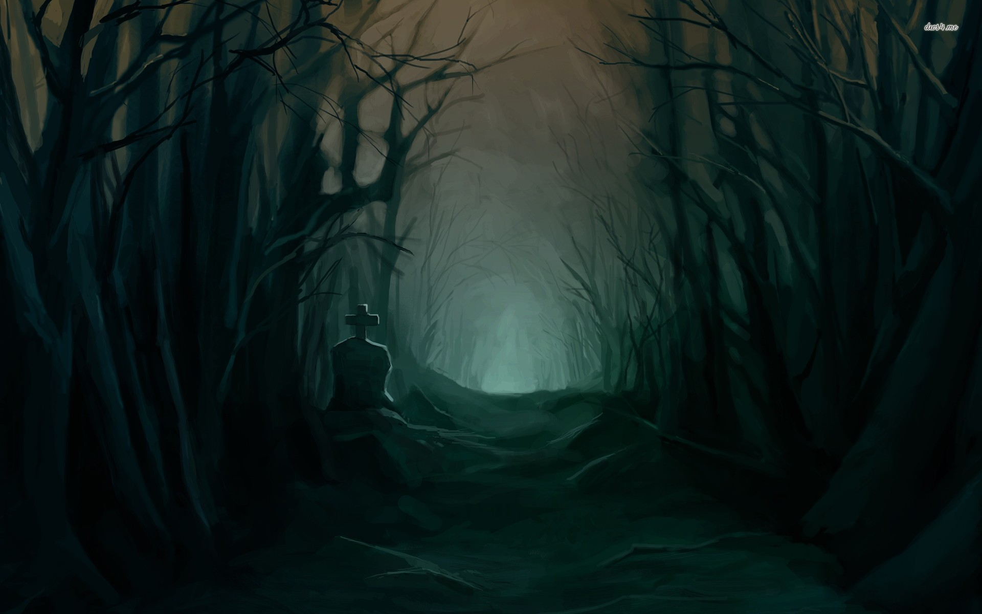 Collection Of Dark Forest On Hdwallpapers 1920x1200