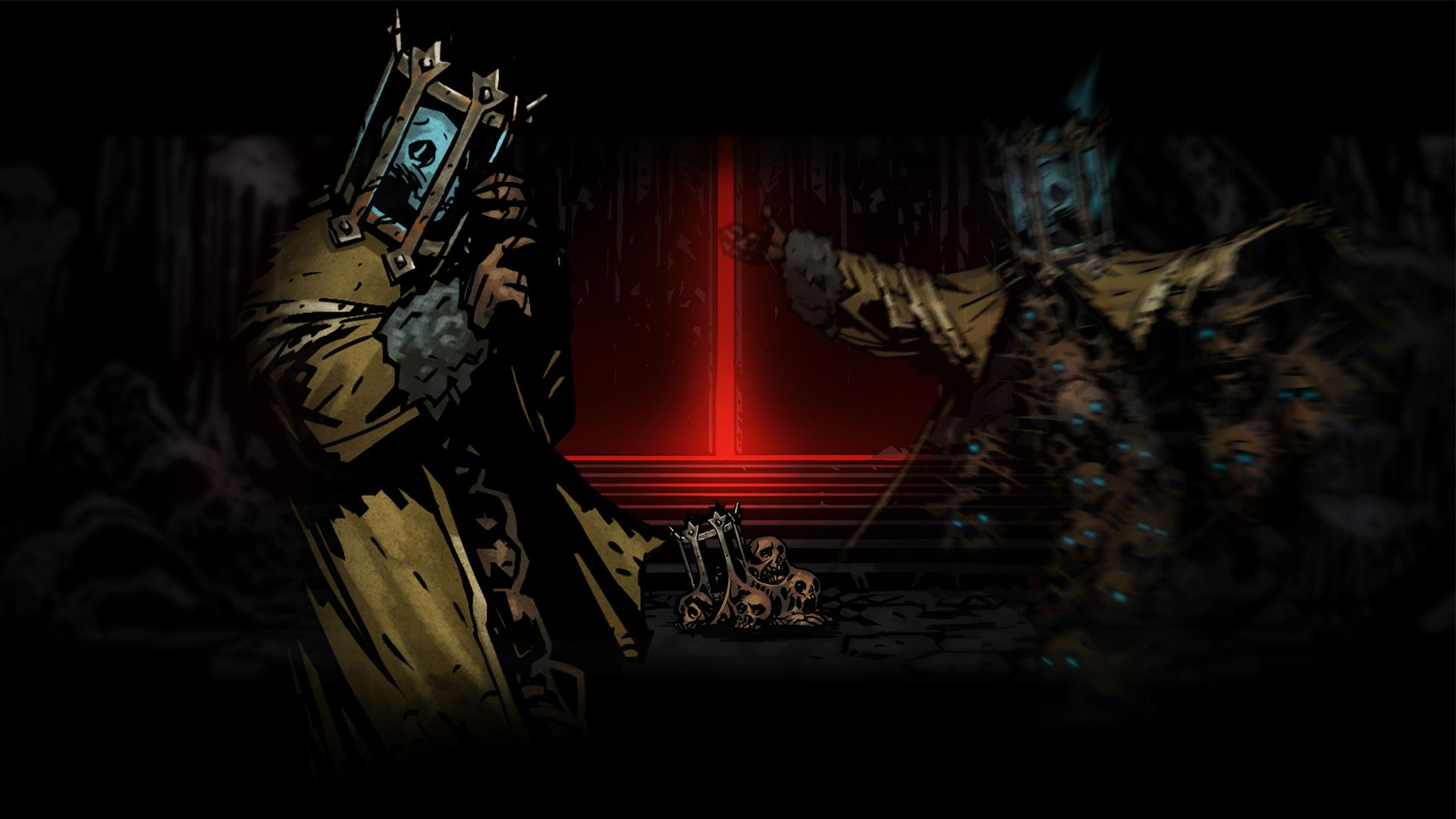Wallpaper armor paladin warrior skeletons Darkest Dungeon images