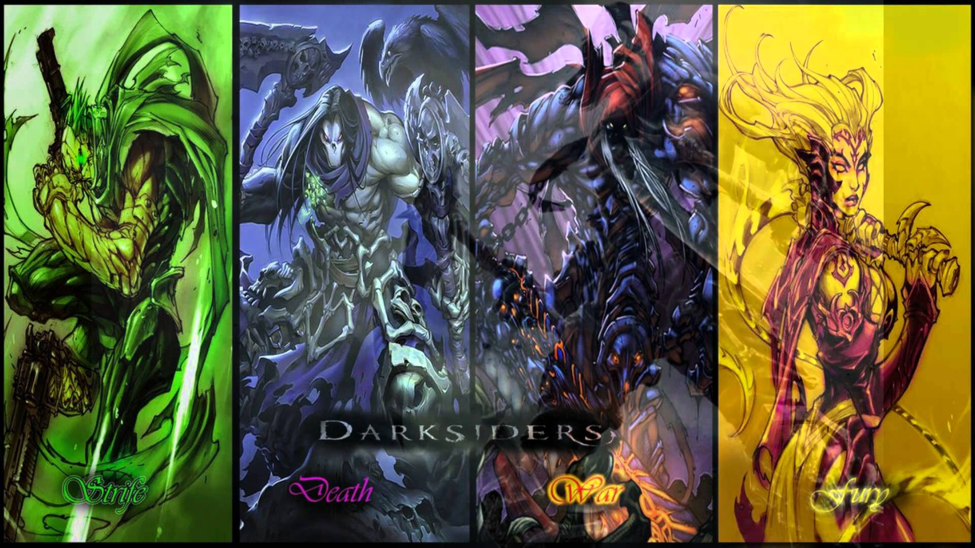Sweet Darksiders II Wallpapers Available Darksiders