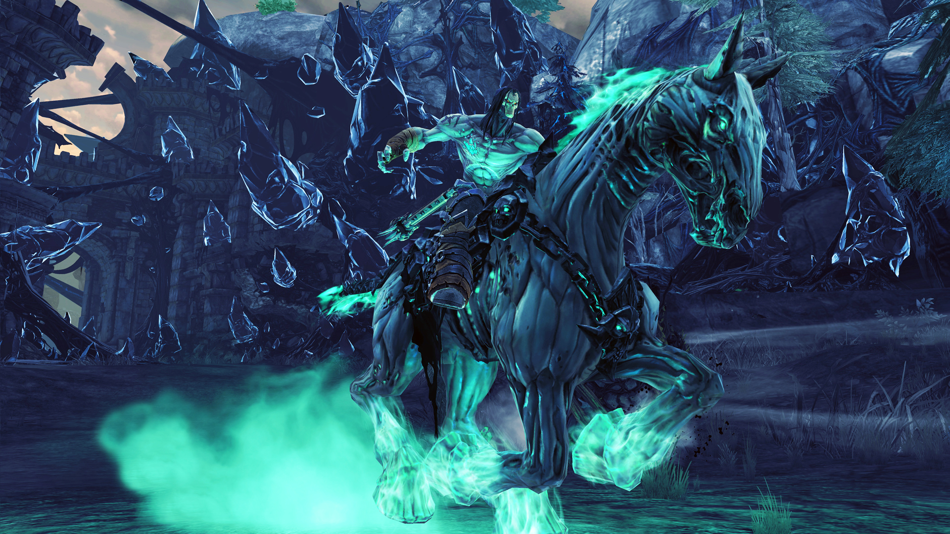 E interview Darksiders lightens up with Death adopts RPG