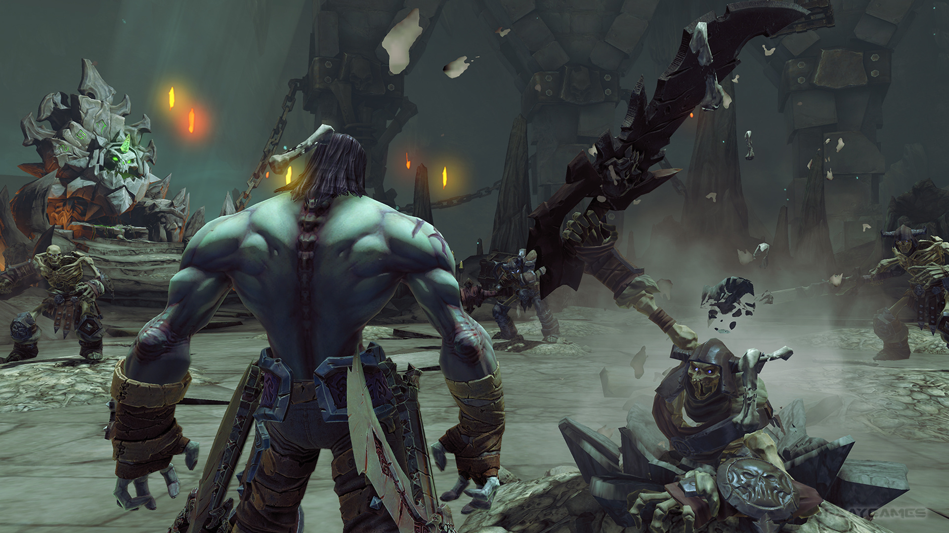 Nordic buys the top THQ lots speaks with Crytek about Darksiders