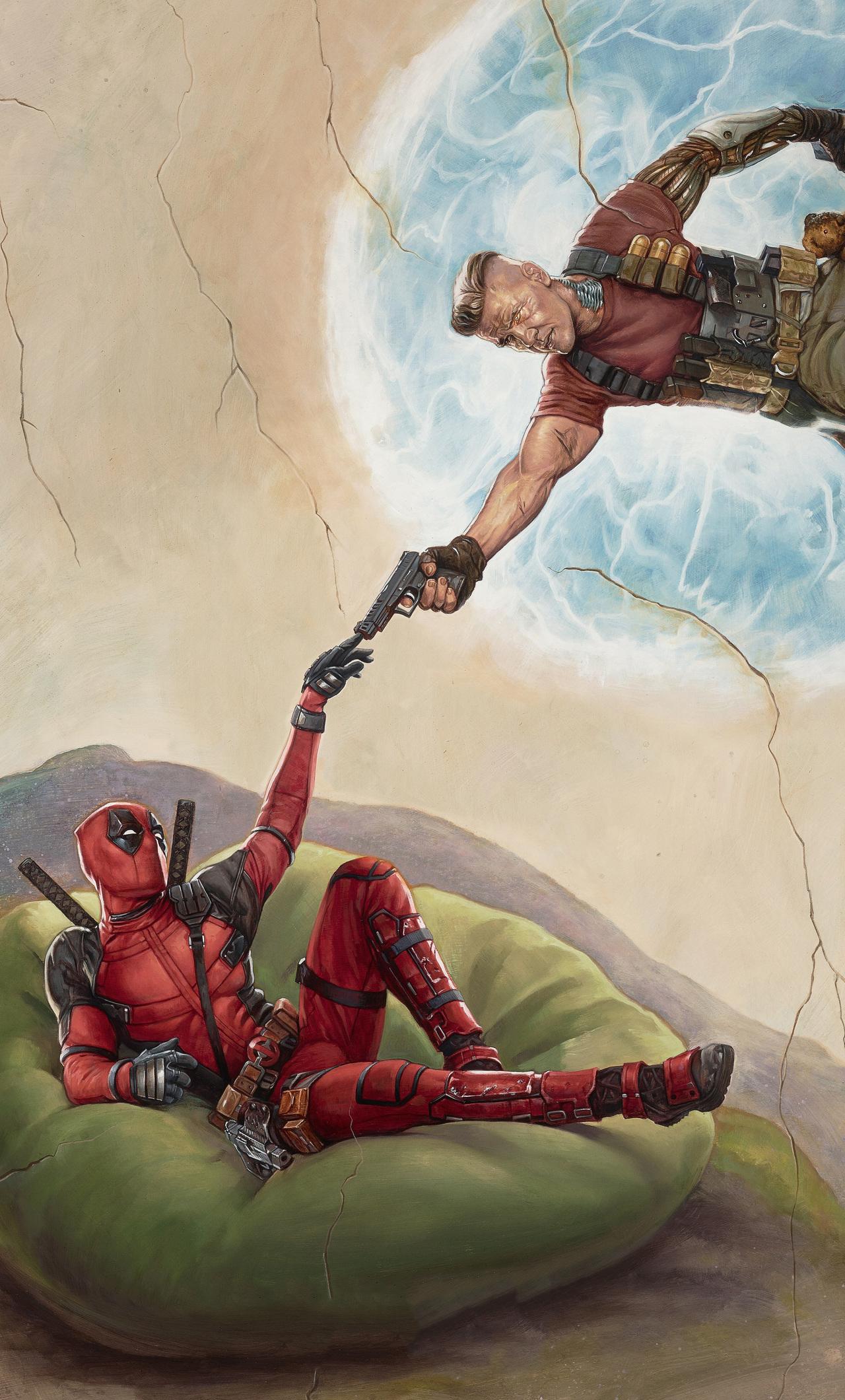 x Deadpool  Movie Poster iPhone HD k Wallpapers