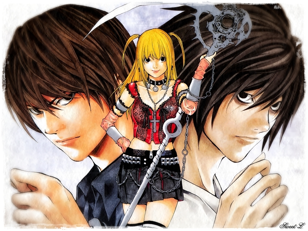 images about Deathnote on Pinterest 1024x768