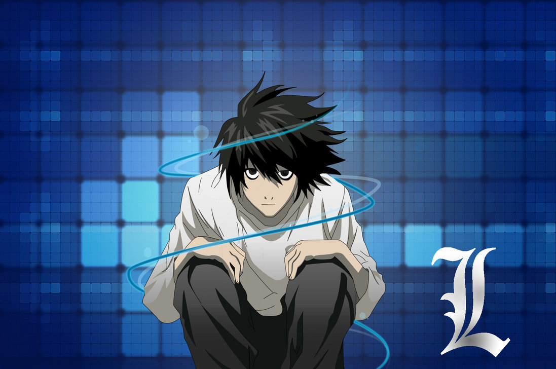Death Note Wallpaper L And LightAnime Lovers Anime 1097x728