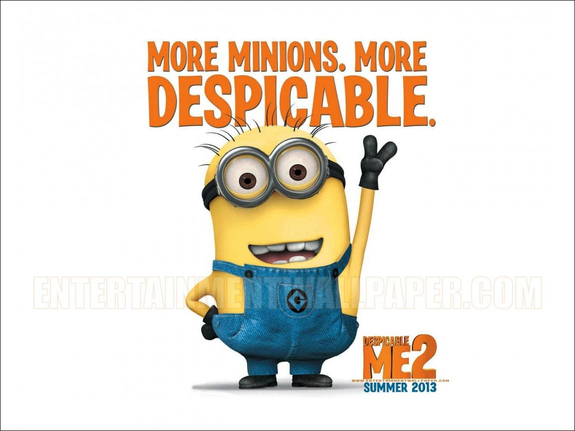 Despicable Me  Minions on The Biggest Loser widescreen wallpaper 1152x864