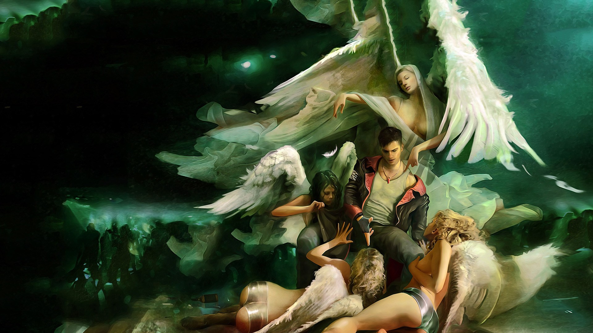 Devil May Cry K Ultra Hd Wallpaper Background Image X
