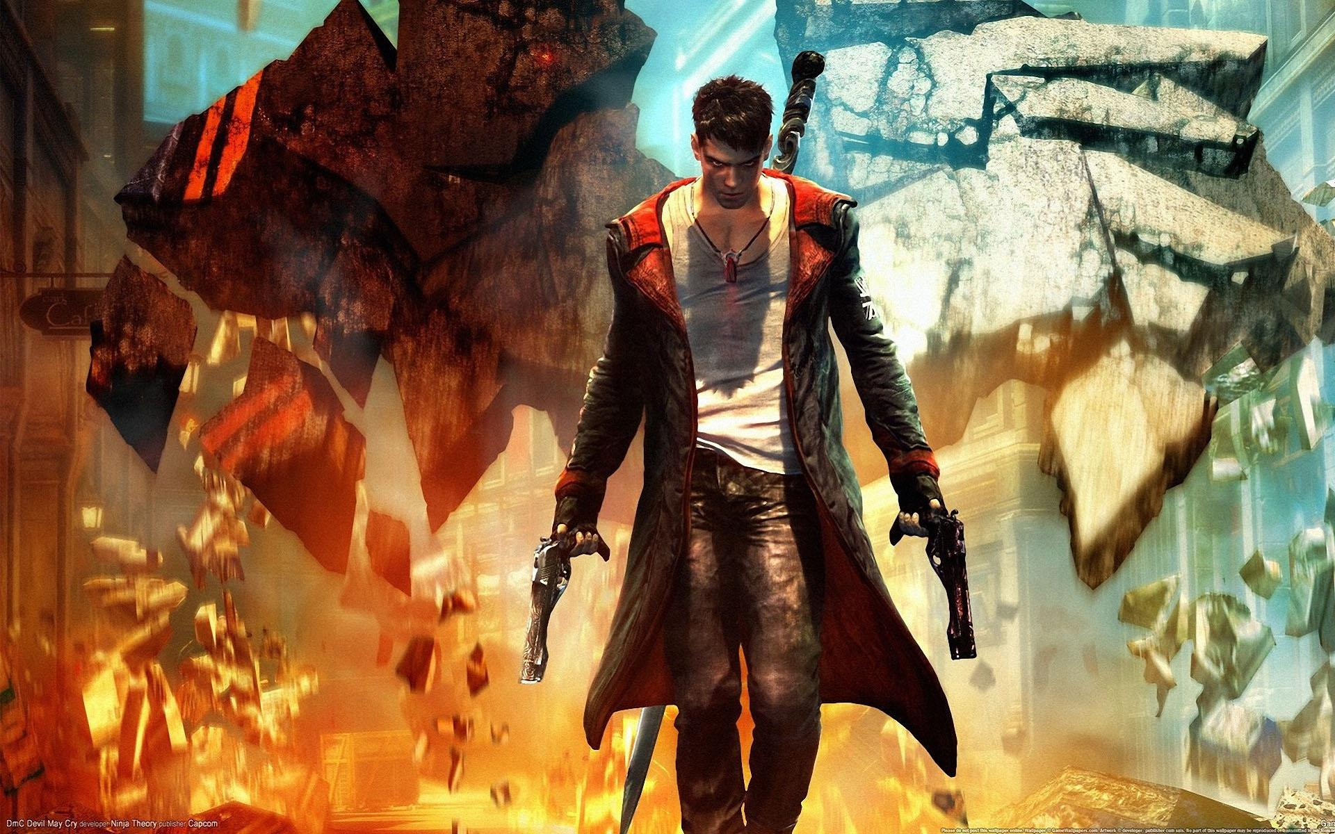 Wallpapers Dante Devil May Cry Devil May Cry Games