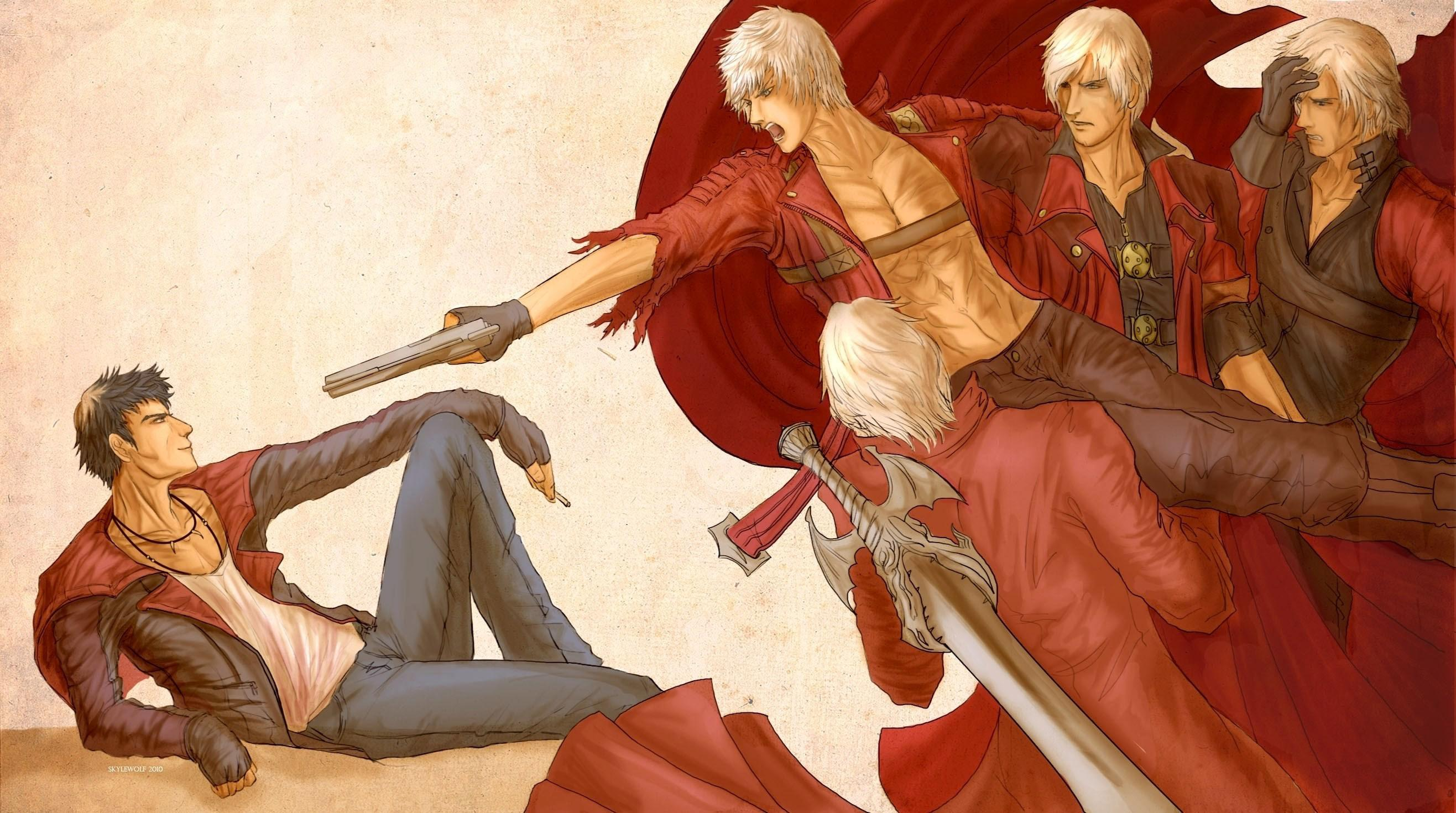 Devil May Cry dmc v wallpaper x