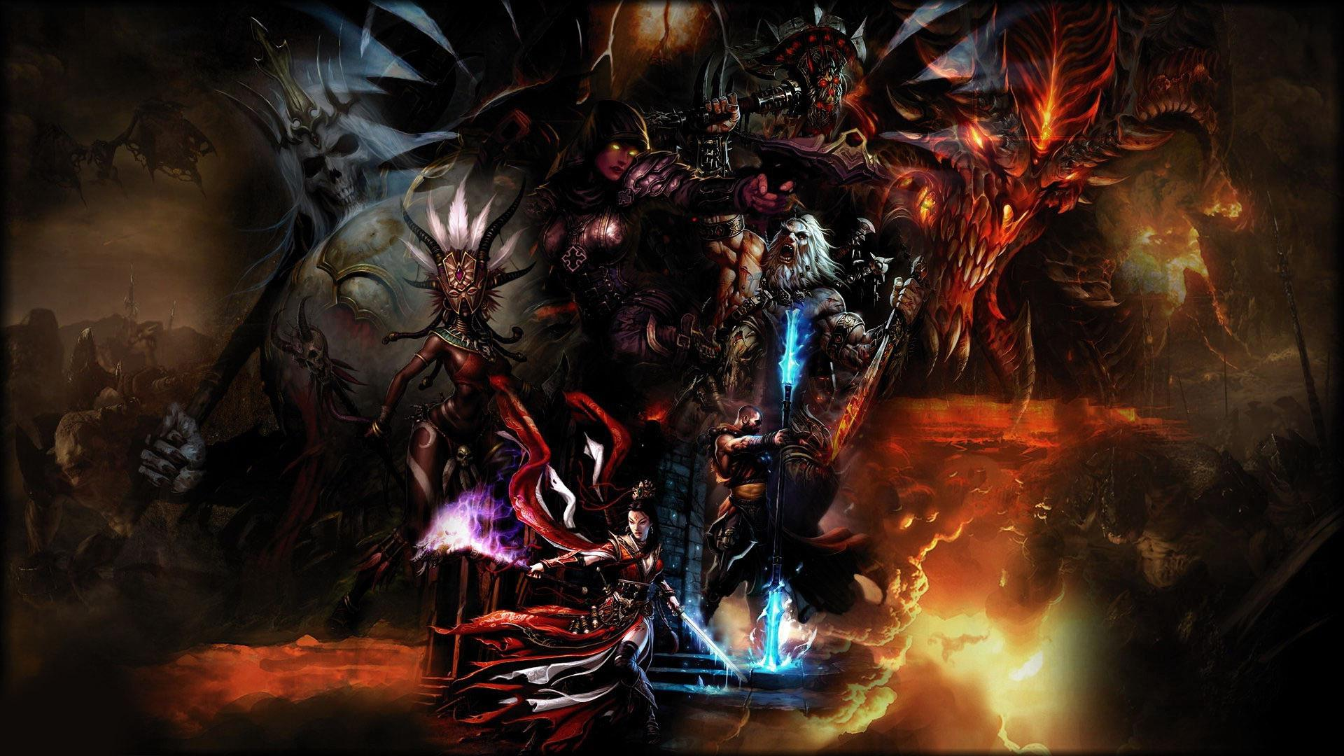 Diablo Reaper Of Souls Animated Wallpaper Hd