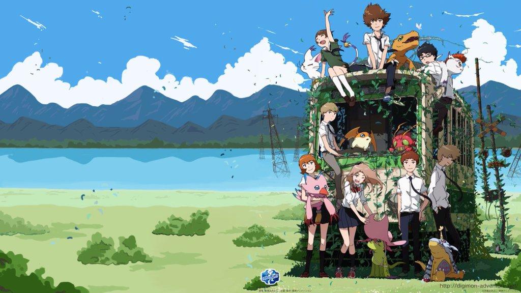 Digimon Adventure Tri Hd Digimon Backgrounds Pixelstalk Free