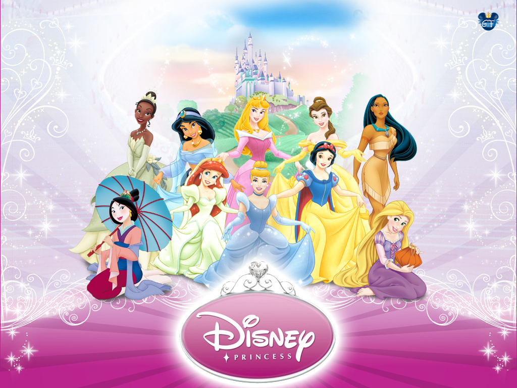 Disney Princess Desktop Wallpaper For Free Download 1024x768