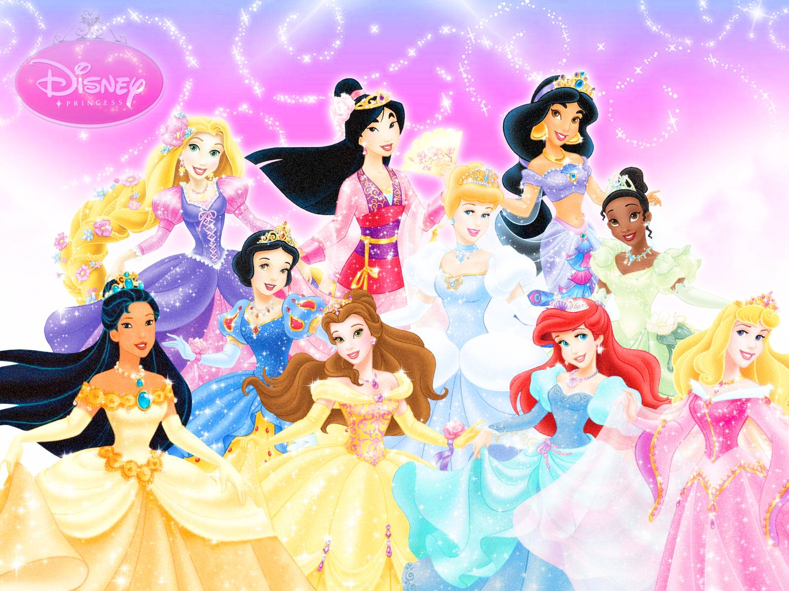Disney Princess Wallpapers  Best Wallpapers 1600x1200
