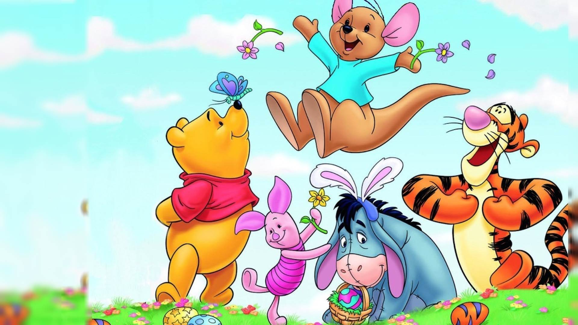 High Resolution Disney Cartoon Winnie The Pooh Wallpaper HD 13 Full Size - SiWallpaperHD 3240