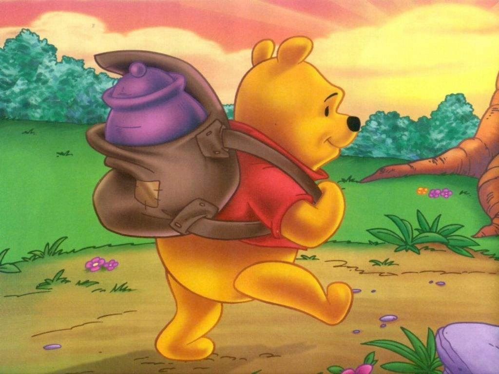 Disney Winnie the Pooh Background for iOS 8  - Cartoons Wallpapers