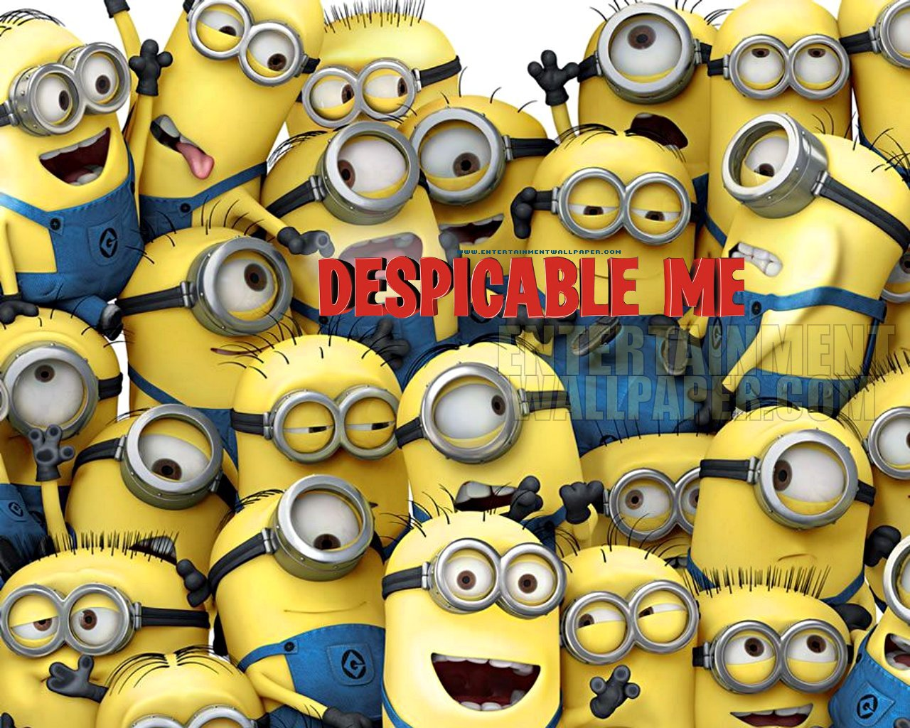 Despicable Me Minion Wallpapers Group  1280x1024