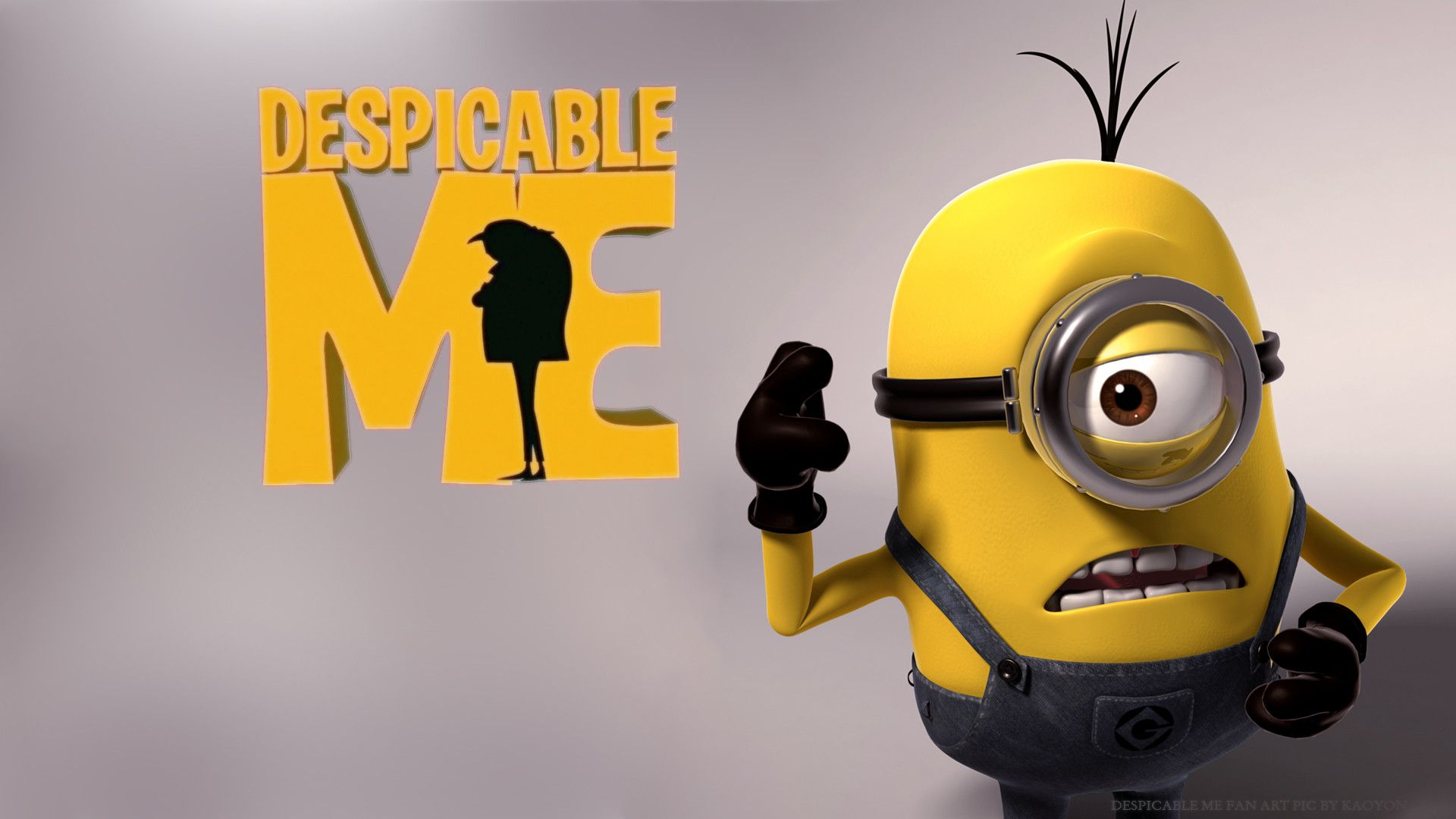 images about Despicable Me Wallpaper on Pinterest  Minion 1920x1080
