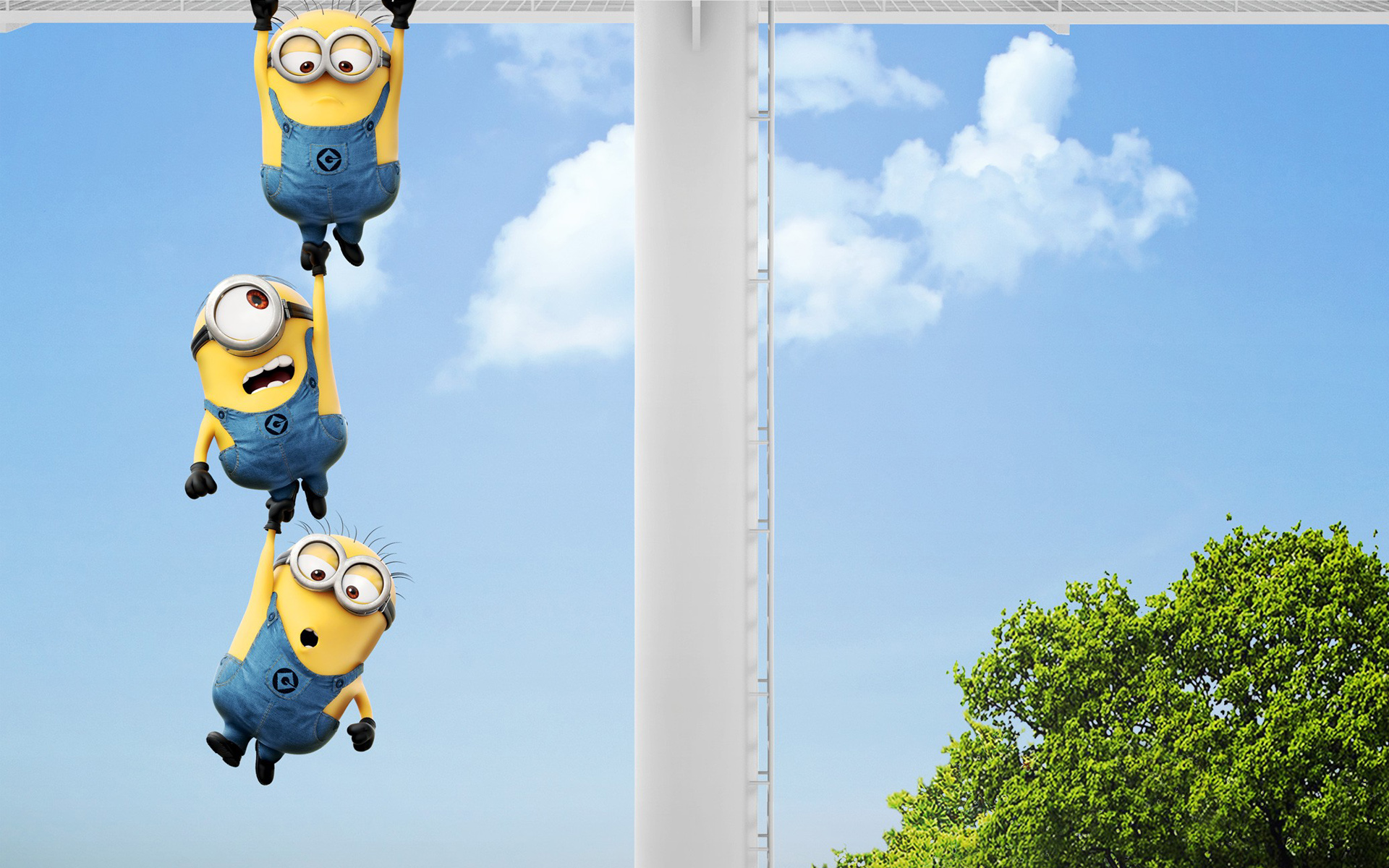 A Cute Collection Of Despicable Me  Minions  Wallpapers, Images 1920x1200