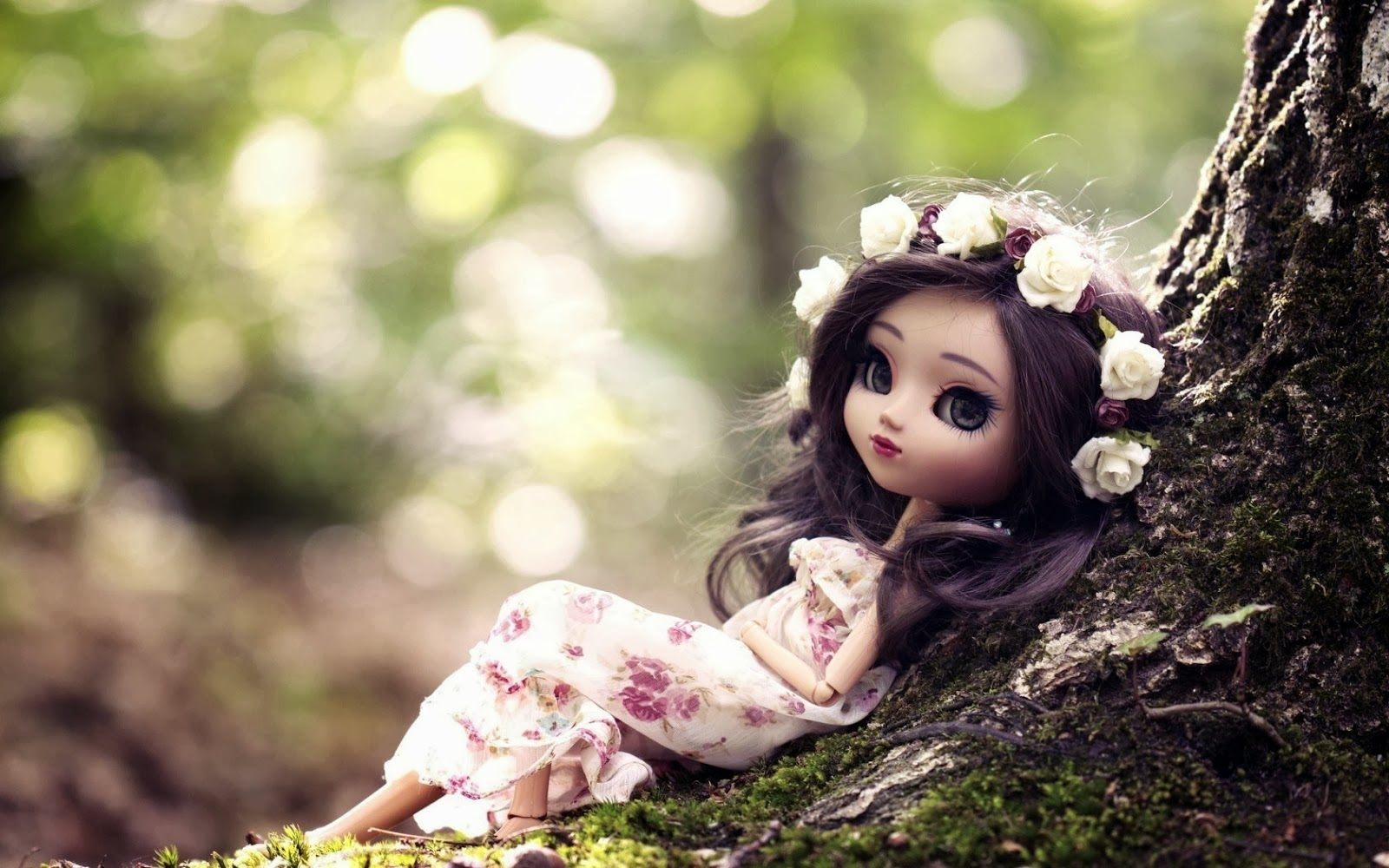 Cute Barbie Doll DP For Girls 1600x1000