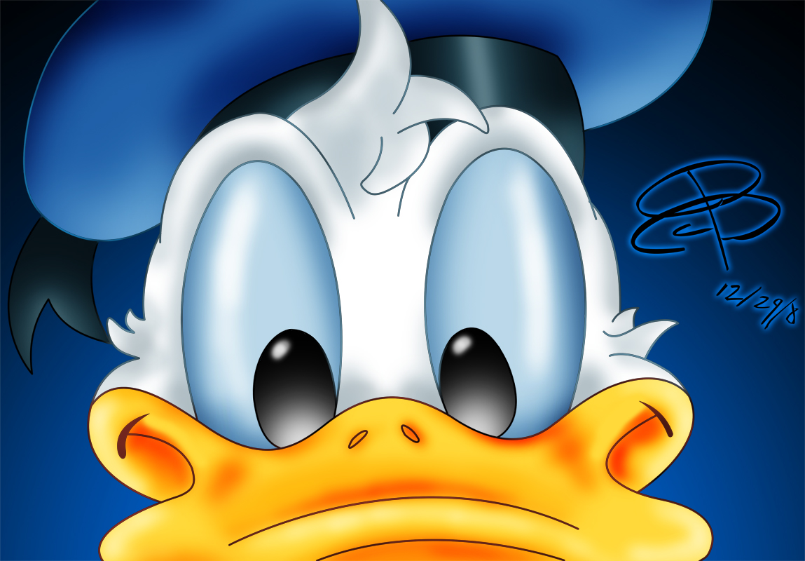 Donald Duck HD Wallpaper for iPad Cartoons