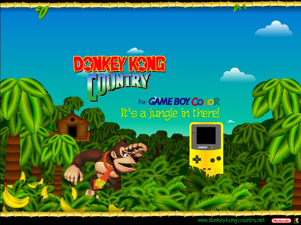 Donkey Kong Country Returns Hd Wallpapers Backgrounds 1024x768