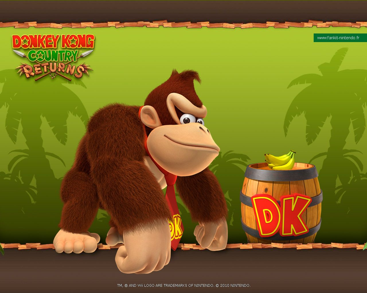 Donkey Kong Country Returns Wallpaper   1280x1024