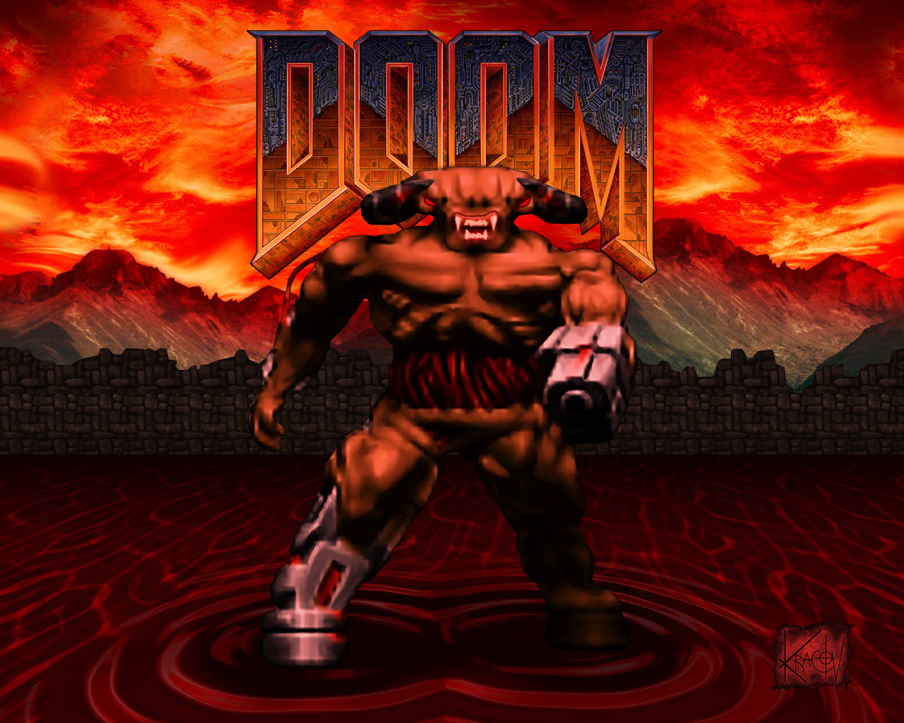 Page Doom  HD Wallpapers 1280x1024