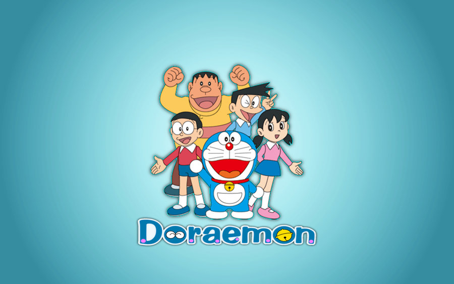 Image Doraemonandfriendhdwallpaperwidescreen Doraemon Wallpapers Hd