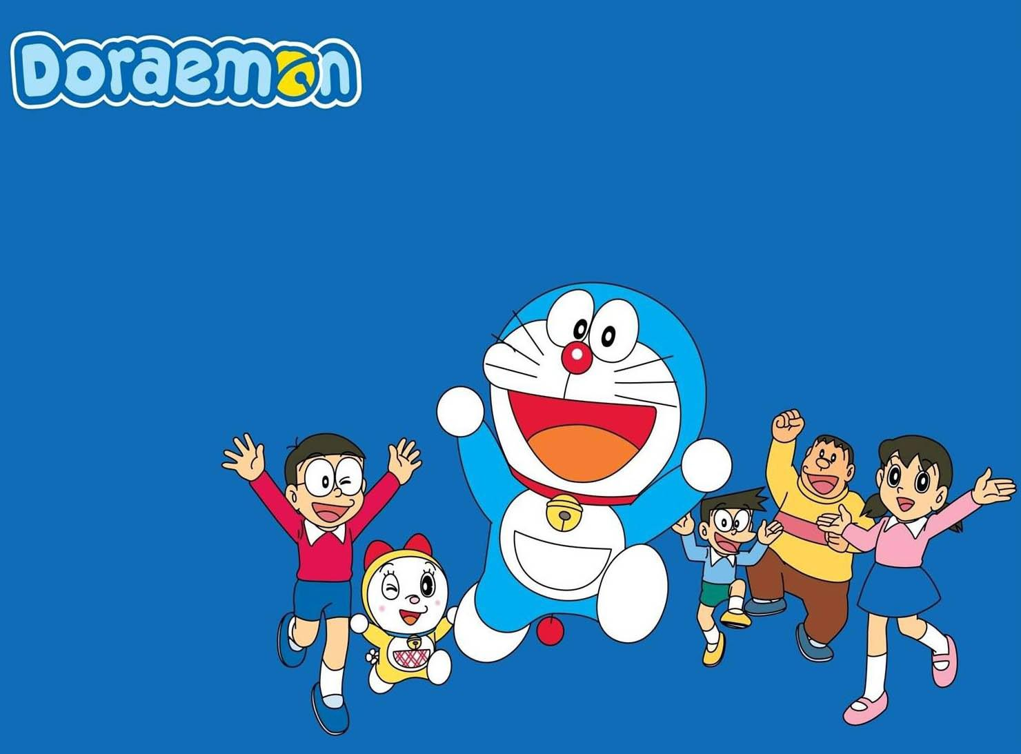Doraemon classic anime x iPhone S wallpaper