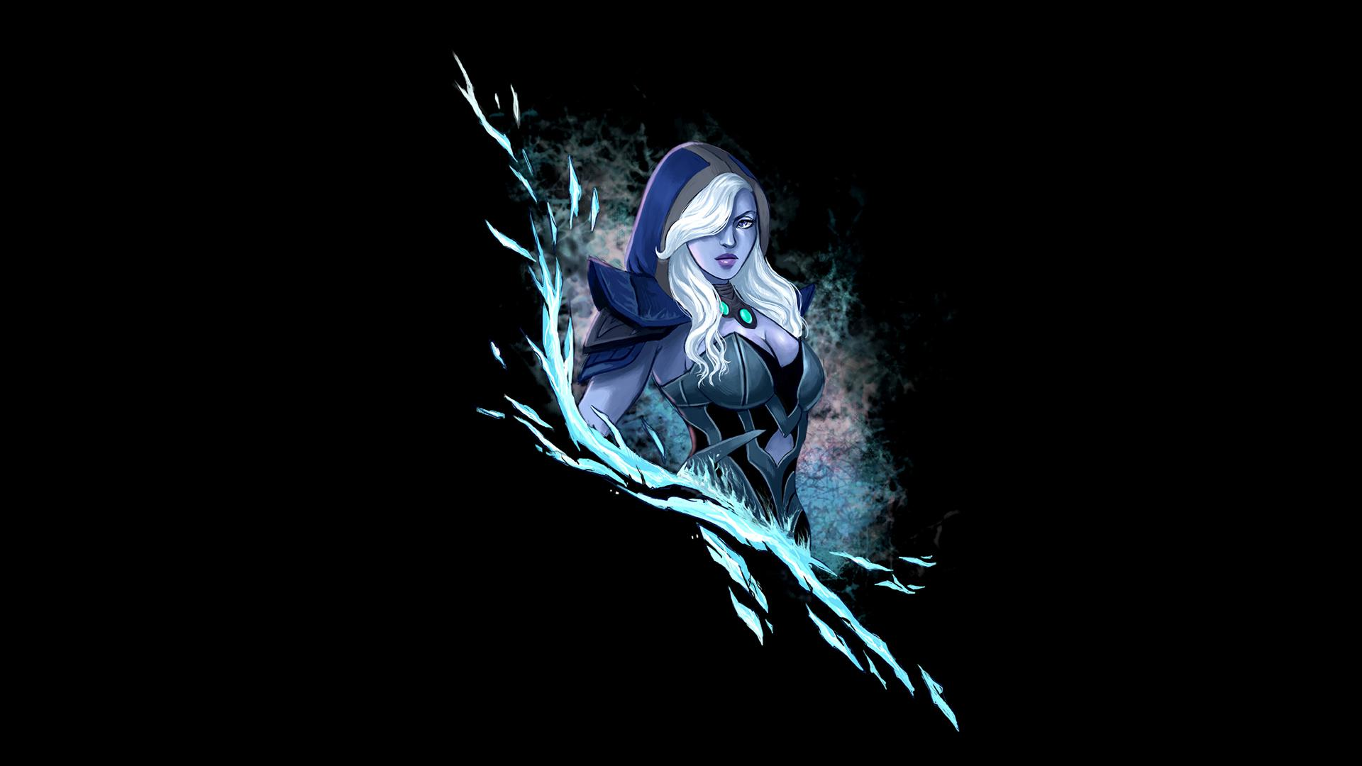 Best Dota Wallpaper drow ranger traxex girl dota