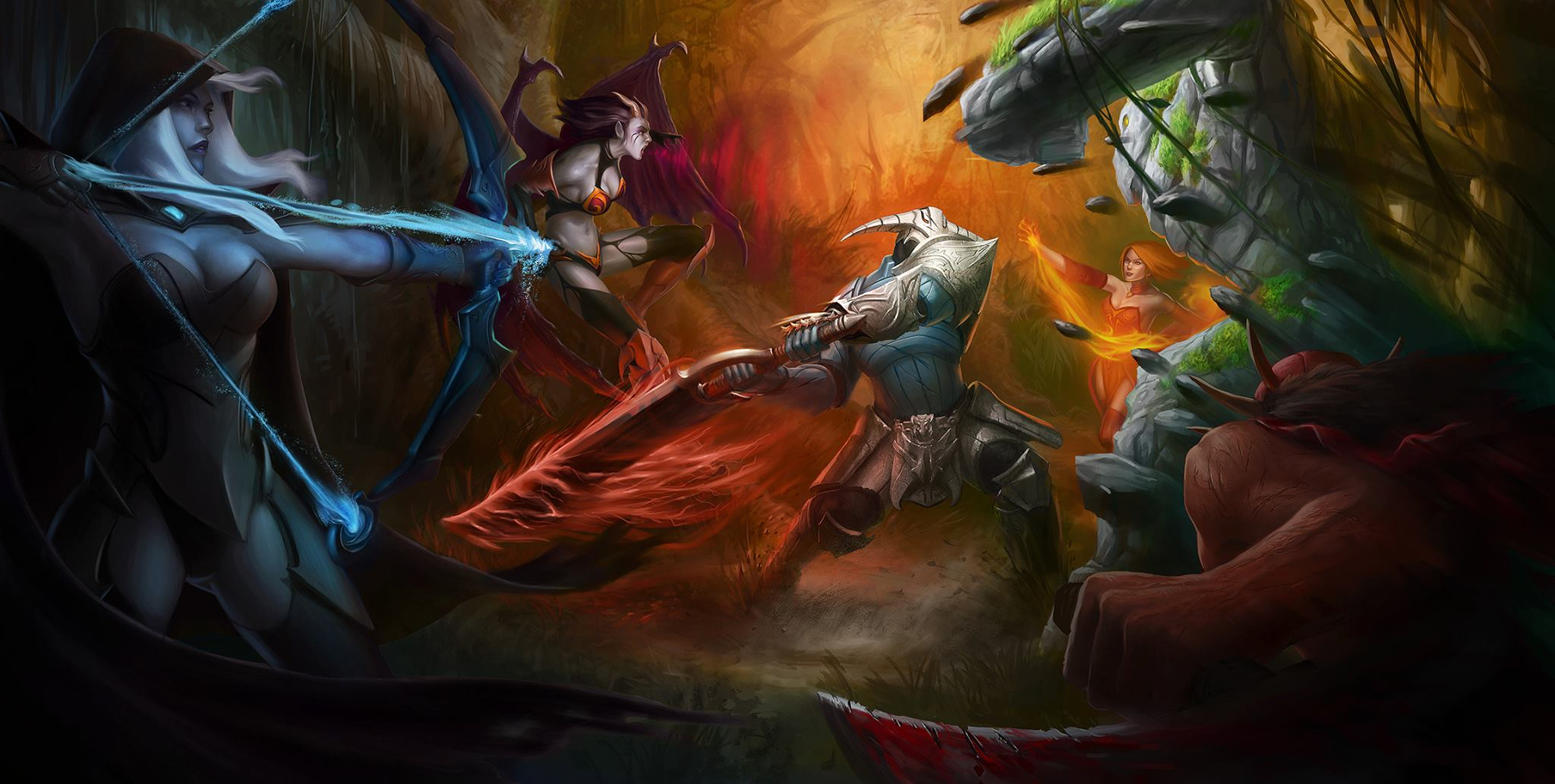 Collection of Dota  Hd Wallpapers on HDWallpapers 2048x1033