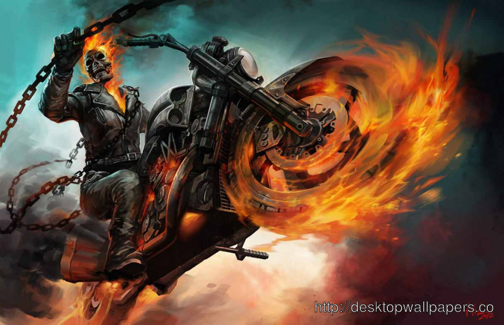 Ghost Rider Mobile Phone Wallpapers Hd 1024x662