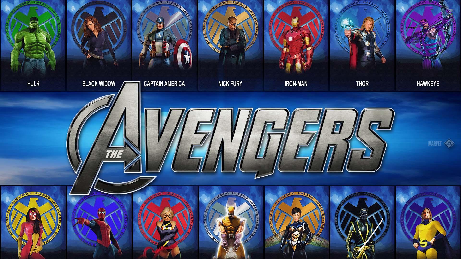 Hd Avengers Desktop Wallpaper Hd Wallpapers 1920x1080