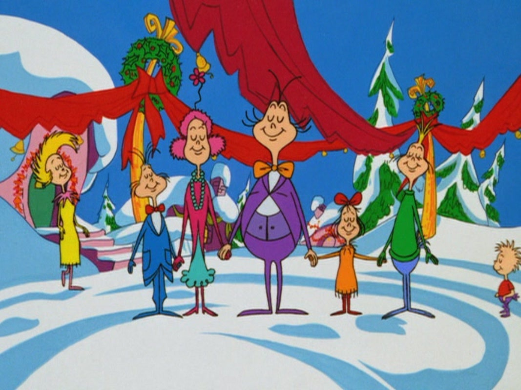 Dr Cast Of Dr Seuss How The Grinch Stole Christmas Movie Christmas 1067x800