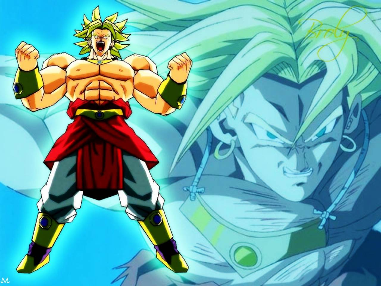 wallpaper: Broly Ssj Wallpapers