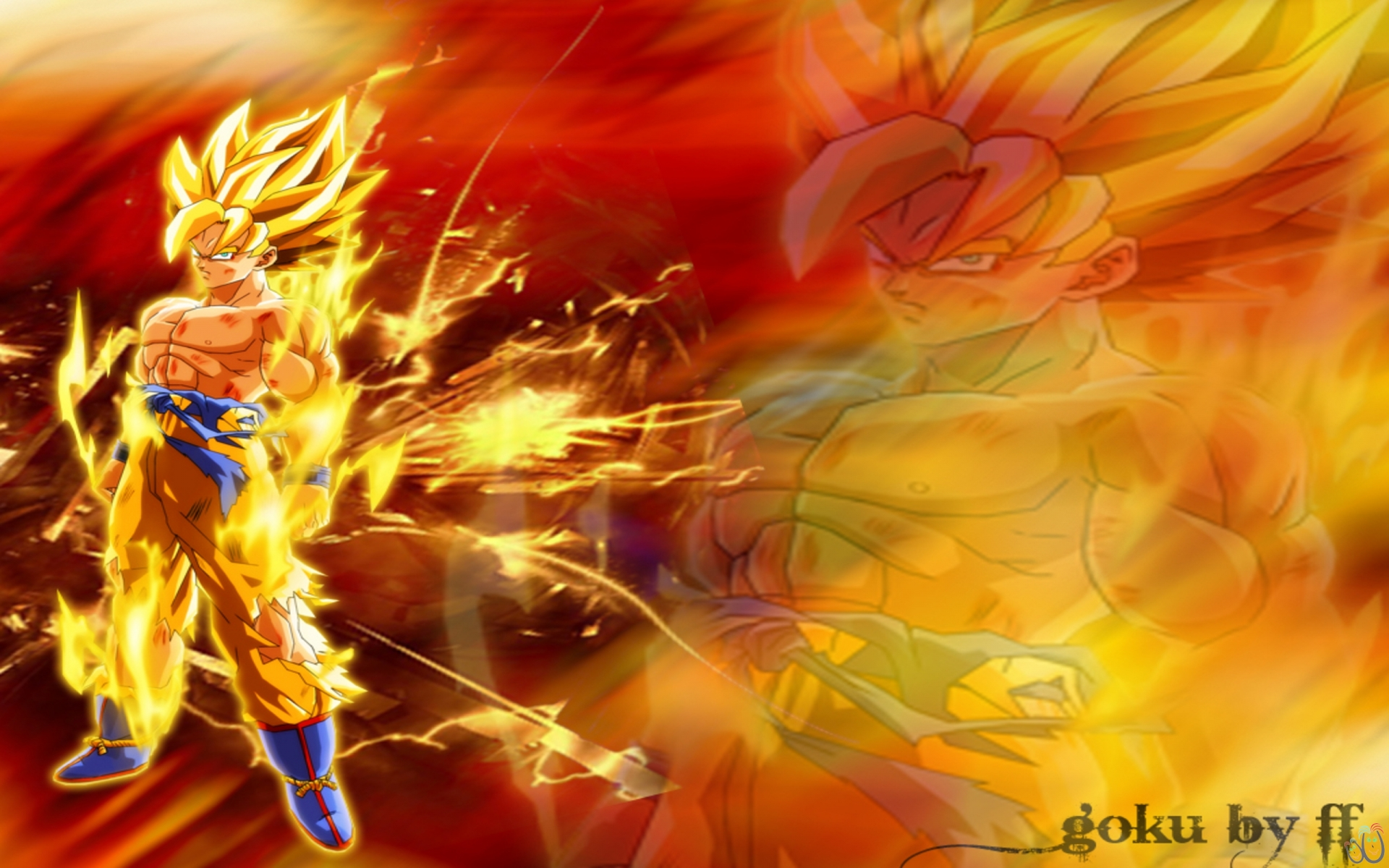 Collection of Best Goku Wallpapers on HDWallpapers 1920x1200
