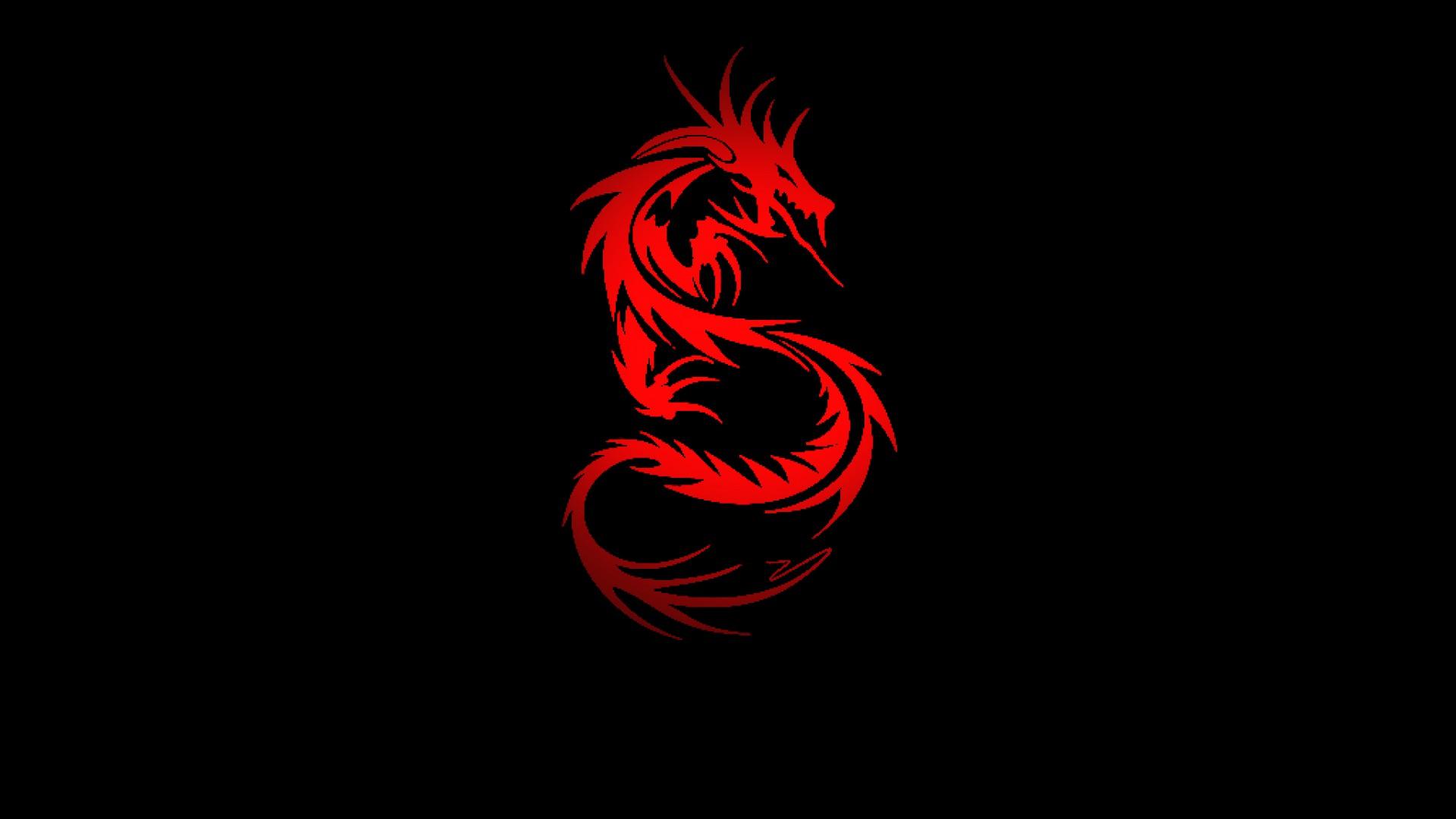 Blood Red Dragon HD Desktop Wallpaper Widescreen High 1920x1080