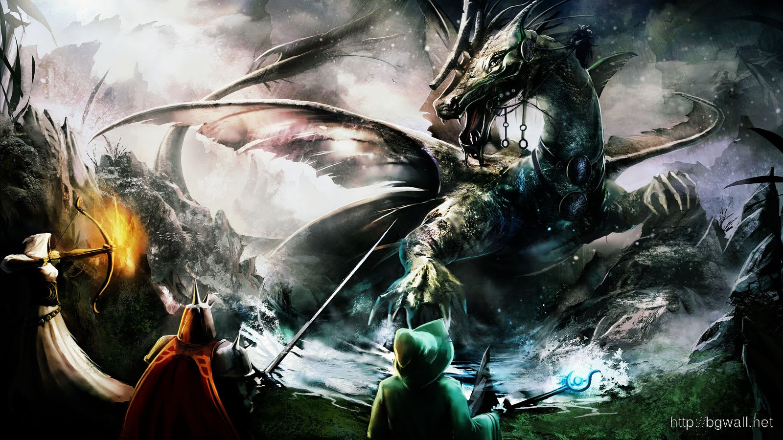 Black Dragon Widescreen Background Wallpapers Amazing 1600x900