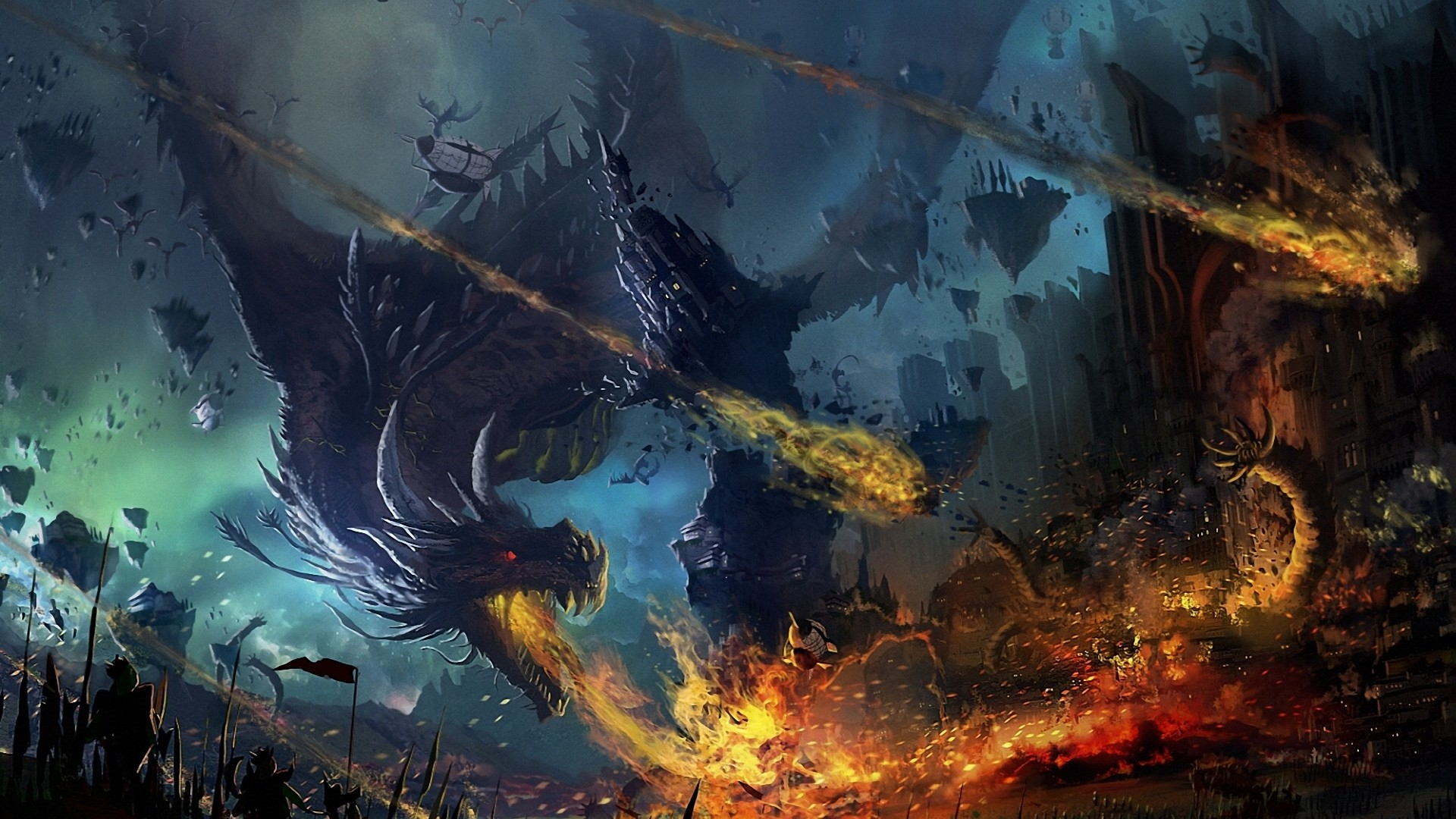 ice dragon hd widescreen wallpapers amazing wallpaperz 1920x1080